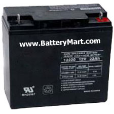 12 Volt 22 Ah Sealed Lead Acid Rechargeable Battery