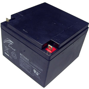 12 Volt 26 Ah Sealed Lead Acid Rechargeable Battery
