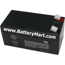 12 Volt 3.2 Ah Sealed Lead Acid Rechargeable Battery - F1 Terminal
