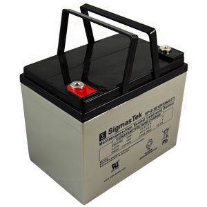 12V 35 AH Sealed Lead Acid Rechargeable Battery Insert Terminals