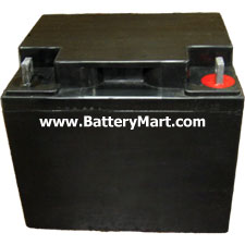 12 Volt 40 Ah Sealed Lead Acid Rechargeable Battery