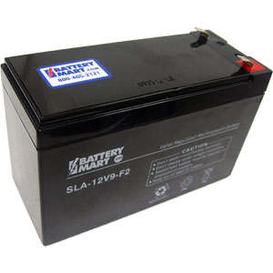 12 volt 9 ah sealed lead acid rechargeable battery. Black Bedroom Furniture Sets. Home Design Ideas