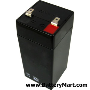 4 Volt 4.5 Ah Sealed Lead Acid Rechargeable Battery
