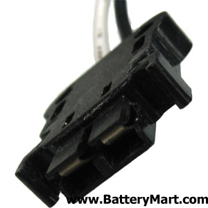 H Connector for the 6 Volt 12 Ah Sealed Lead Acid Battery