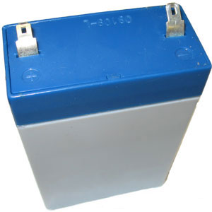 6 Volt 2.8 Ah Sealed Lead Acid Rechargeable Battery - F1 Terminal