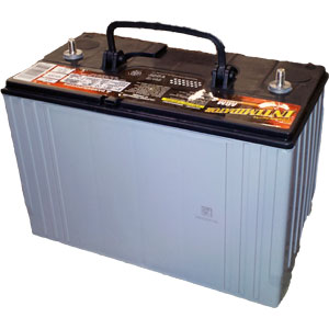 Mega Crank HD AGM Battery - 925 CCA
