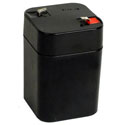 6 Volt 5 Ah Sealed Lead Acid Rechargeable Battery with F1 Terminal