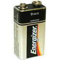 Energizer 9 Volt Batteries - Box of 156