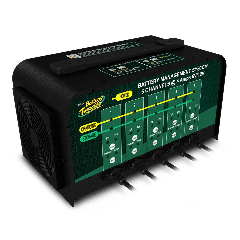 Battery Tender 6 12 Volt 4 Amp Battery Charger 5 Banks