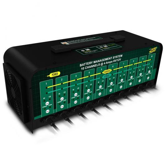 Battery Tender 6/12 Volt 4 Amp Battery Charger - 10 Banks