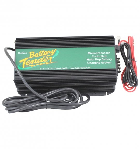 Battery tender 12 volt 20 amp high frequency gel cellagm battery battery tender 12 volt 20 amp high frequency gel cellagm battery charger with panel sciox Choice Image