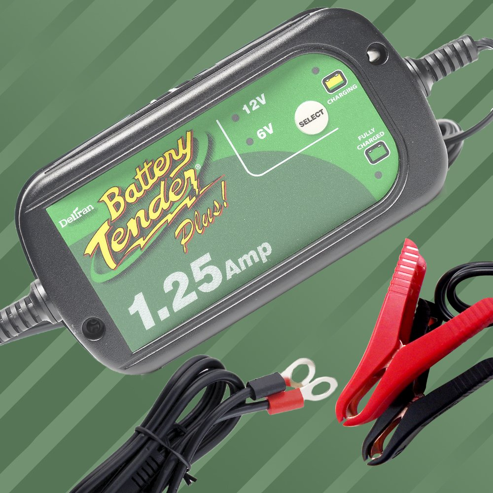Battery Tender Selectable 6v 12v 1 25 Amp Battery Charger