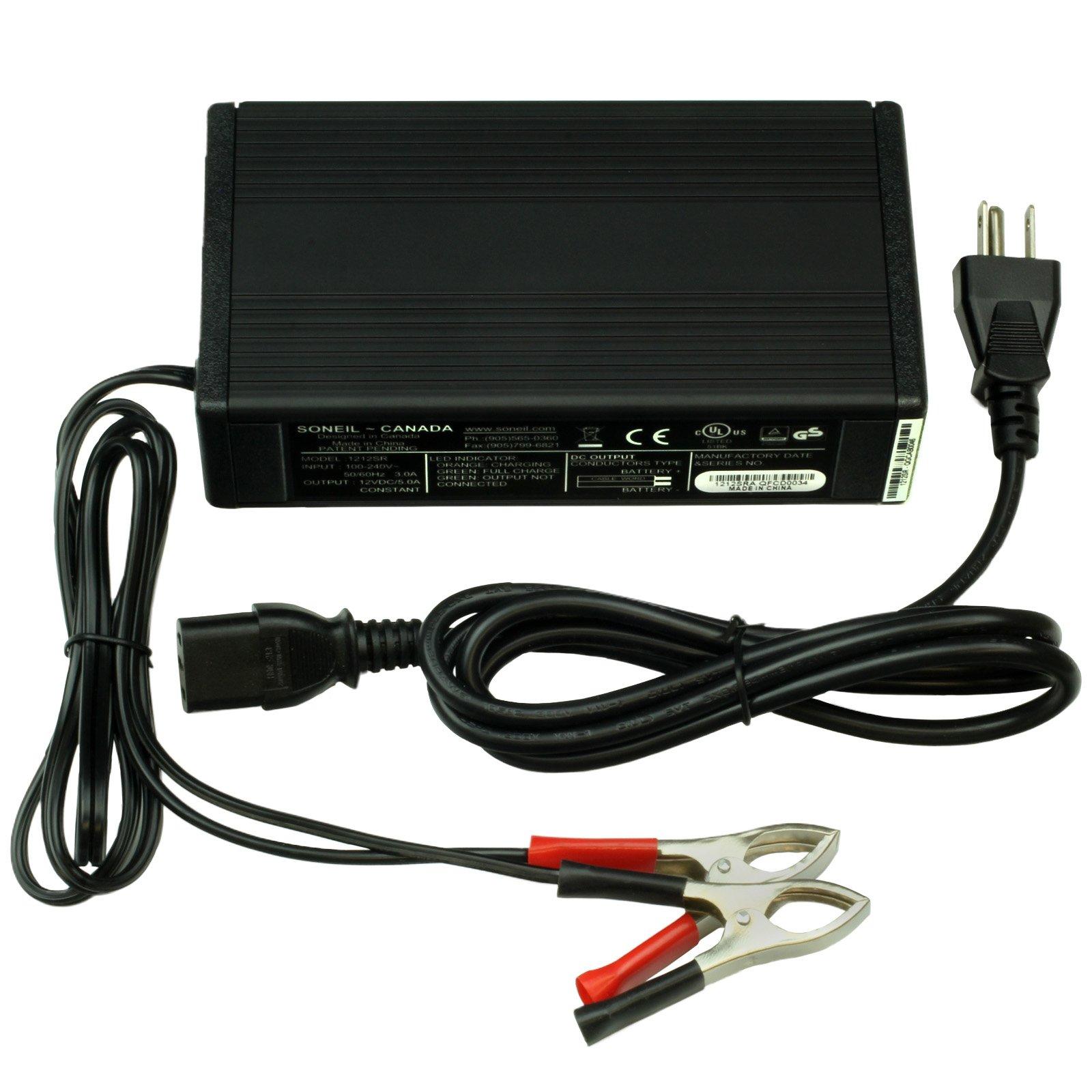 Battery Defender 12 Volt 5 Amp Battery Charger on
