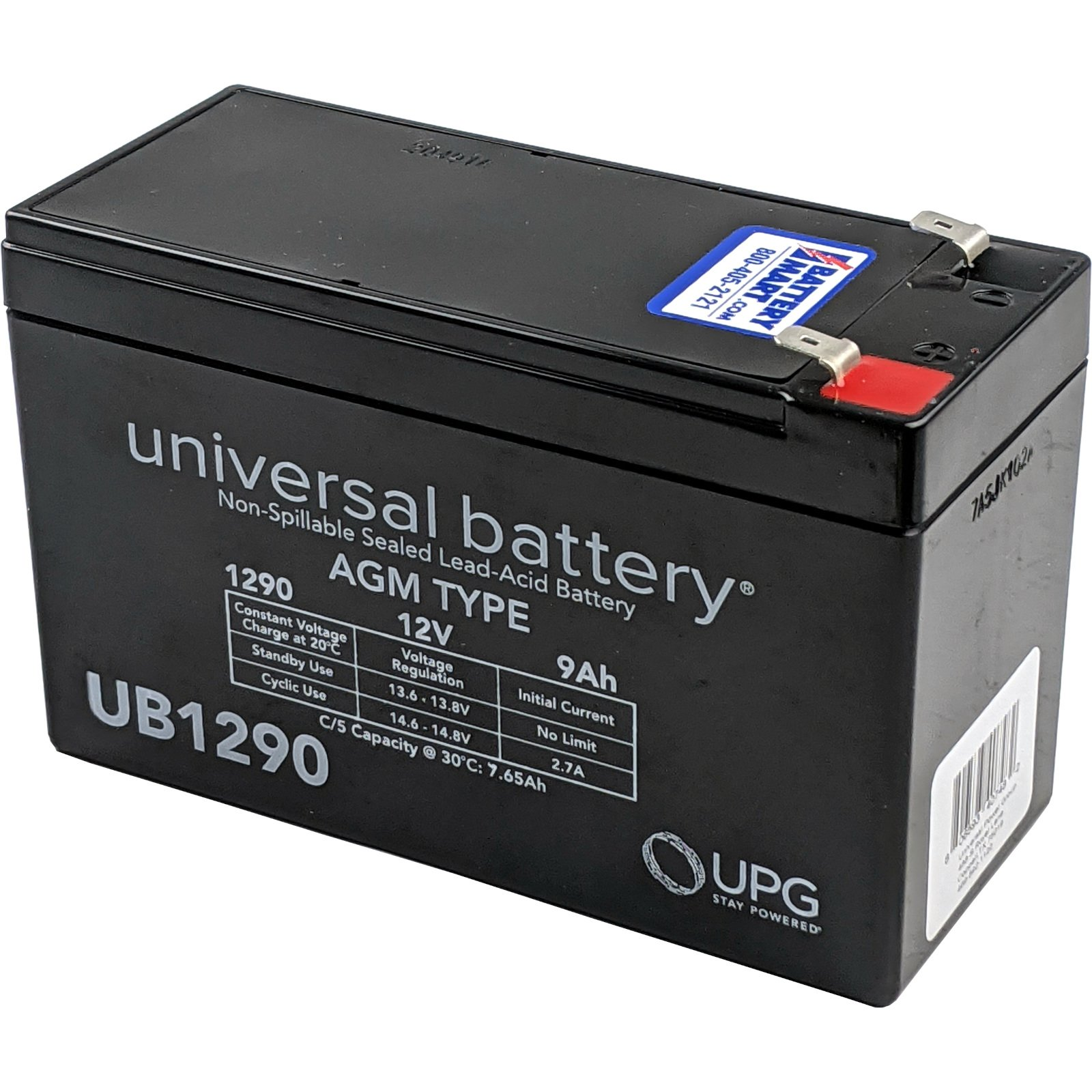 Minuteman Pro 320 Replacement Battery Rechargeable, high Rate