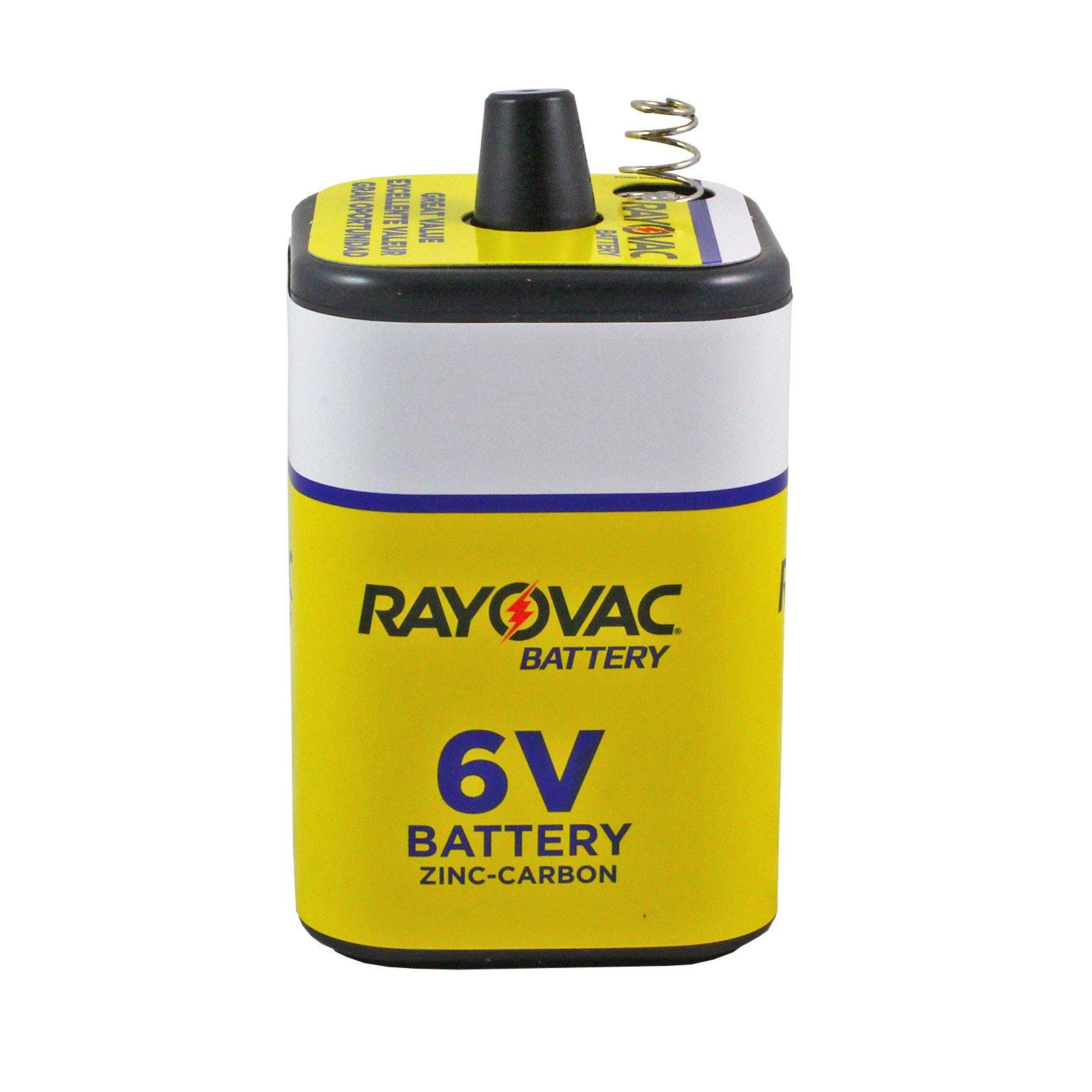 Rayovac 6v Hd 6 Volt Heavy Duty Lantern Battery Battery Mart