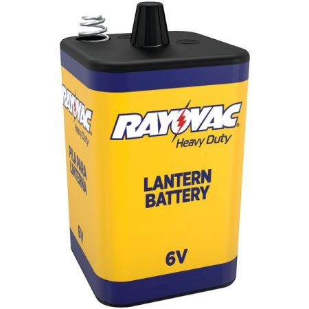 Rayovac 6v Hd 6 Volt Heavy Duty Lantern Battery
