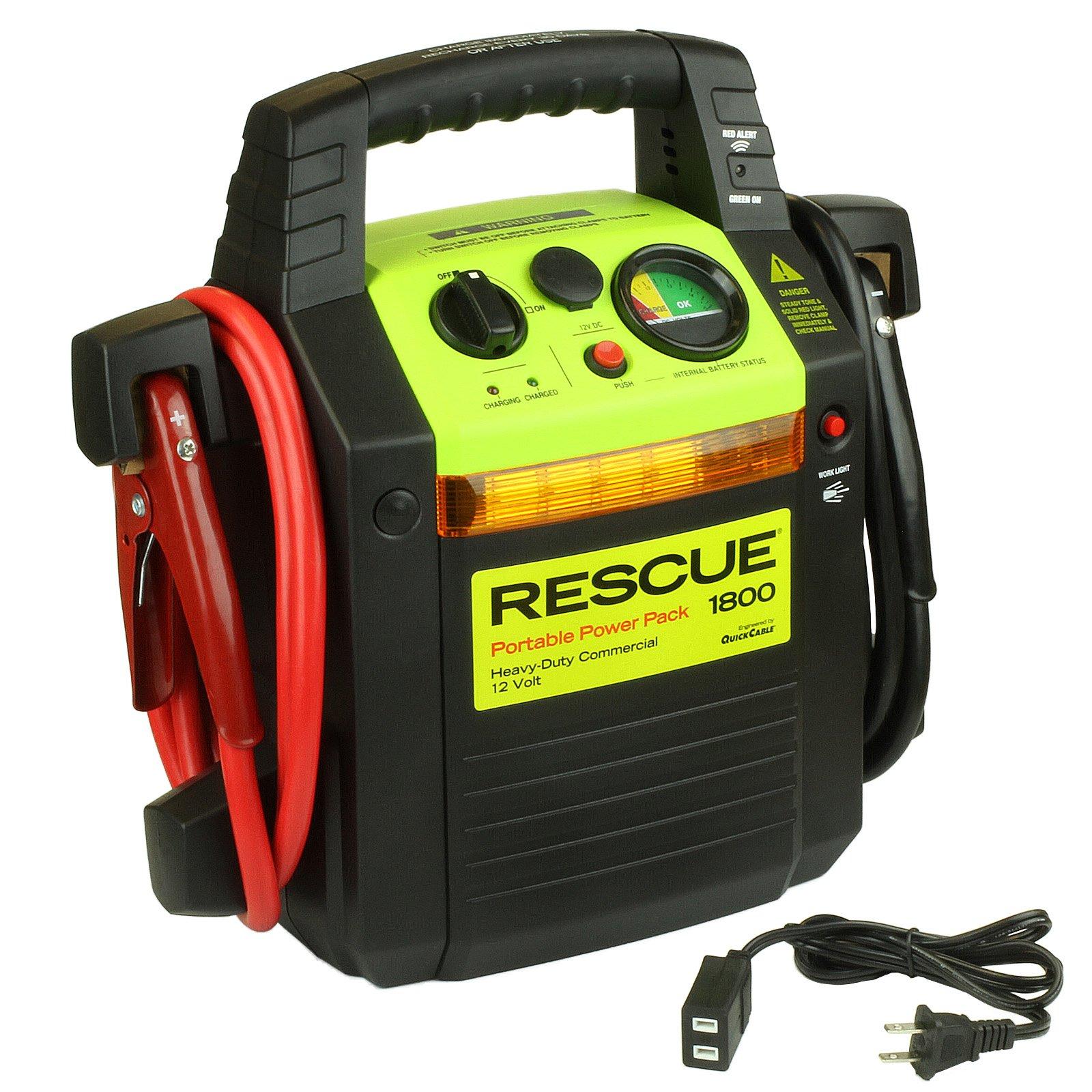 QuickCable Rescue Jump Pack 1800 - 12 Volt Dual Battery: BatteryMart.com