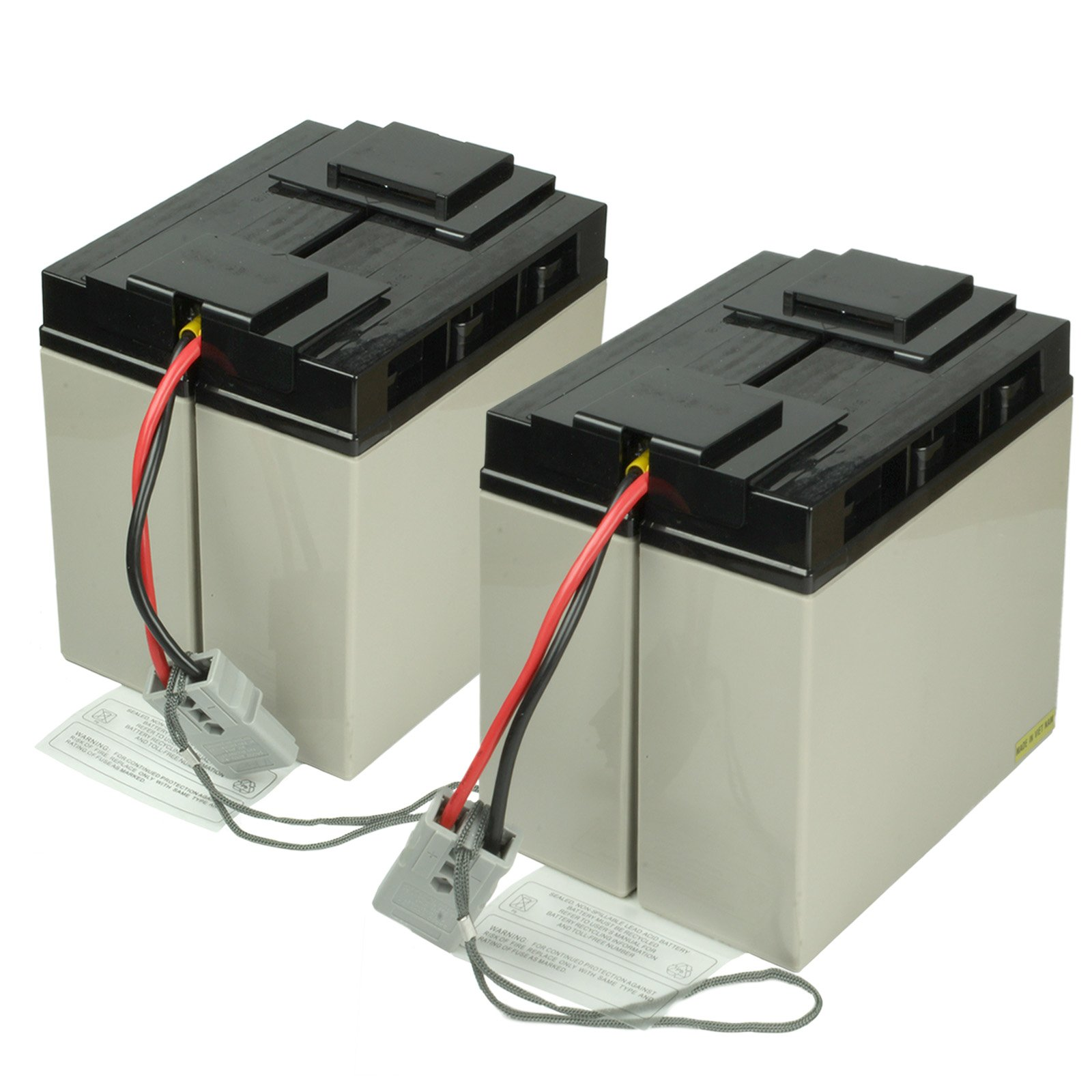 Replacement RBC-55 Rechargeable Battery Pack with SBS®50 Plug