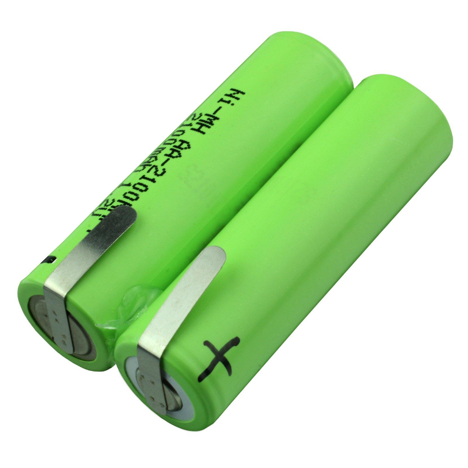2 4 Volt 1100 Mah Nimh Cordless Razor Battery Batterymart Com