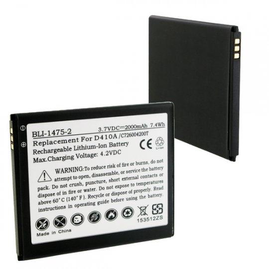 e4201e9ae6e0e3 Replacement BLU C726004200T Cell Phone Battery: BatteryMart.com