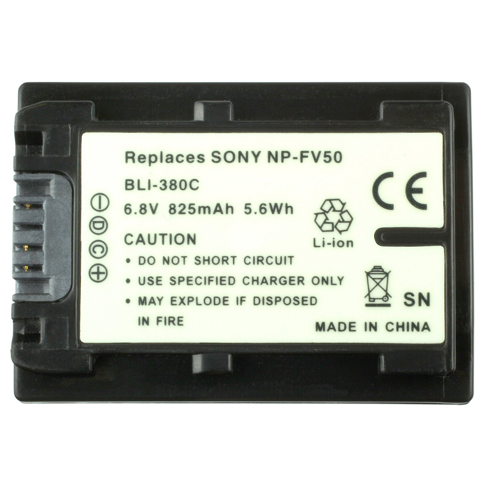 Mitsuru® Battery for Sony NP-FV100 NP-FV30 NP-FV50 NP-FV70