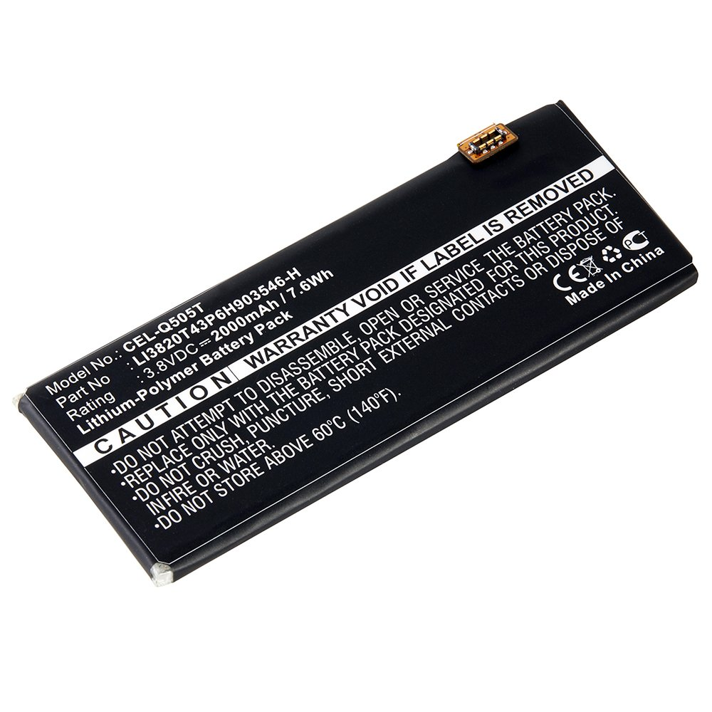 asked for zte phone battery replacement one three