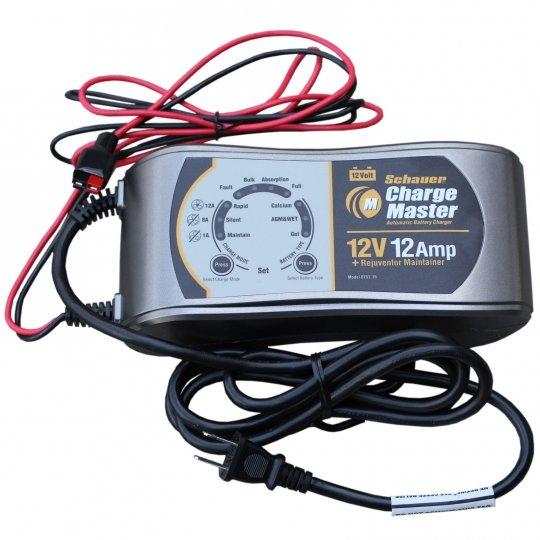 schauer charge master cm12a automatic charger desulfator 12 volt 1 rh batterymart com Schauer 10 Amp Battery Charger Schauer Battery Charger Repair