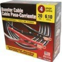 Deka 4 Gauge 20 Foot Booster Cables