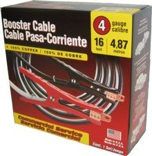 Deka 4 Gauge 16 Foot Booster Cables