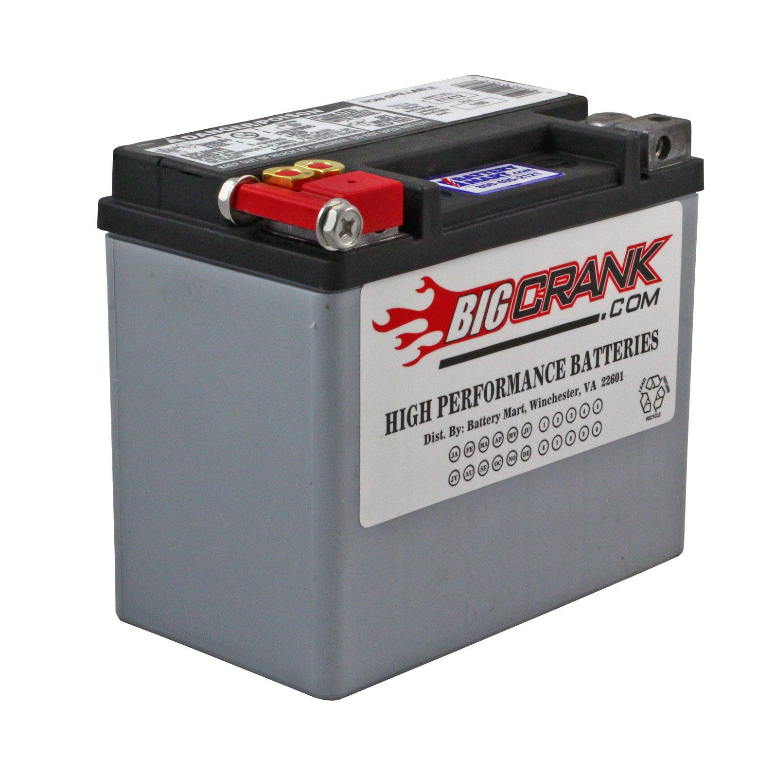 Usa made big crank etx12 battery
