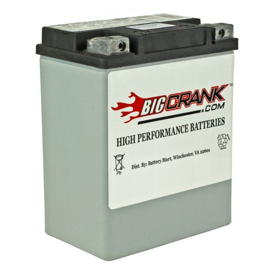 536e67de231 USA-Made Big Crank ETX15 Battery | 12 Volt 14 Ah Battery