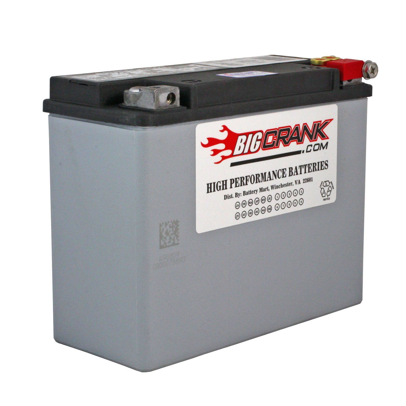 Usa Made Big Crank Etx18l Battery Free Shipping