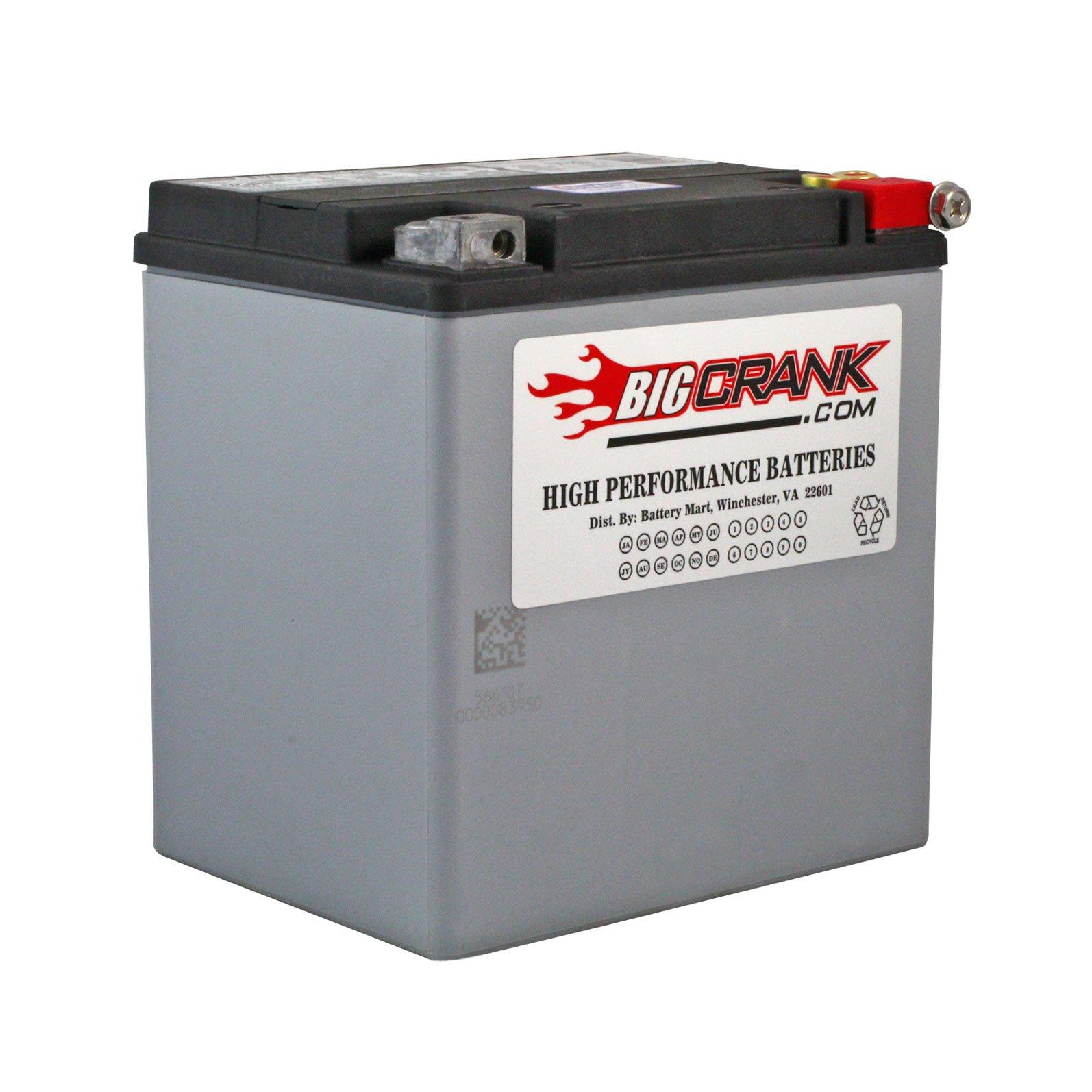 Big Crank Etx30l Battery 12 Volt 26 Ah Battery
