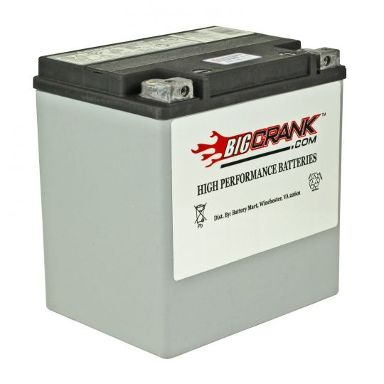 Harley Davidson Battery >> Usa Made Big Crank Etx30l Battery