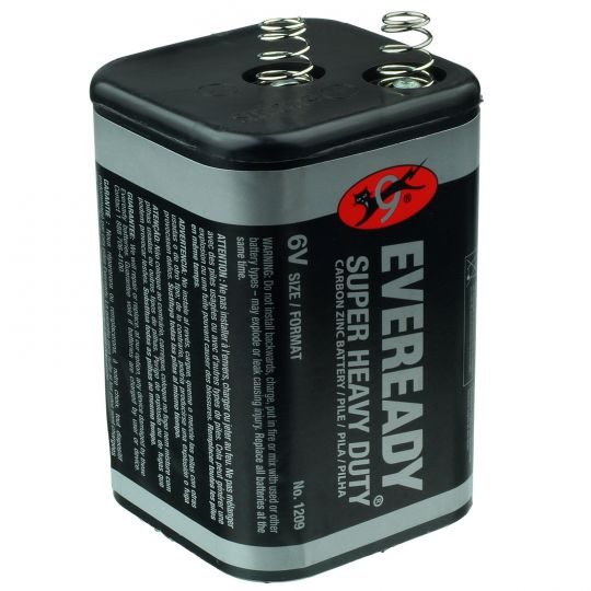 Eveready 1209 6 Volt Lantern Battery