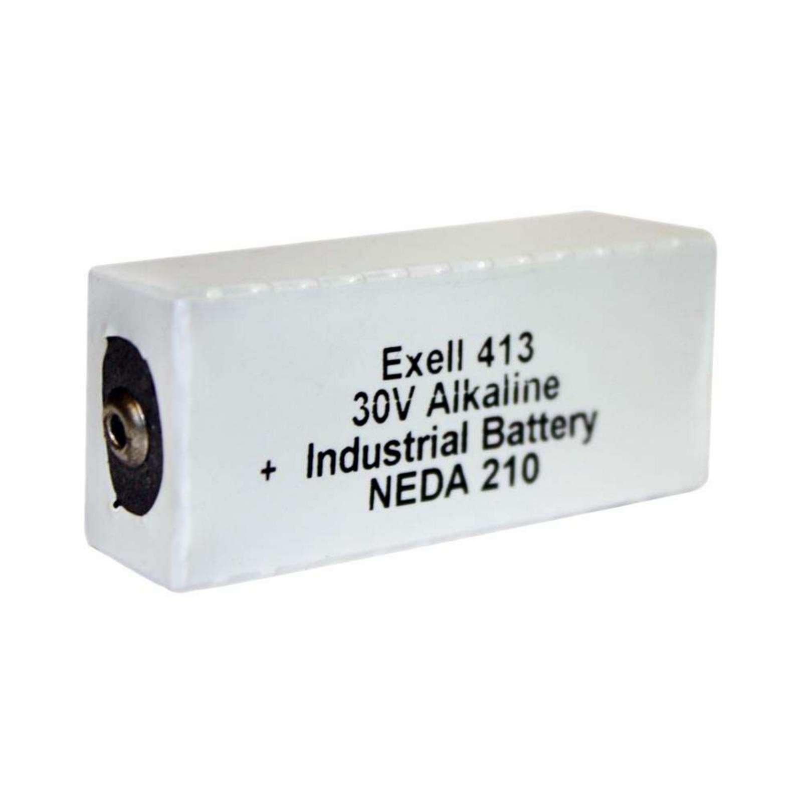 Exell 413 Industrial Battery Free Shipping Batterymart Com