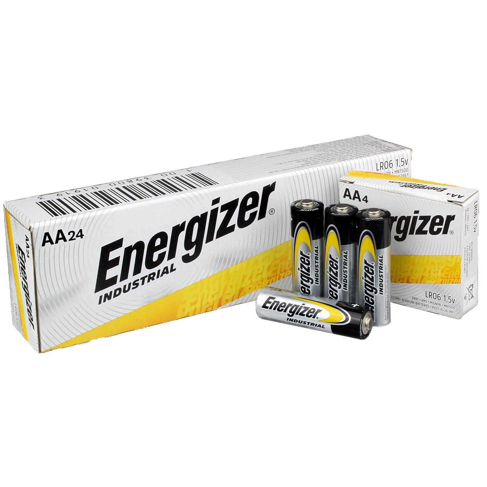 frisse stijlen redelijke prijs sportschoenen Energizer Industrial AA Alkaline Batteries - 24 Pack