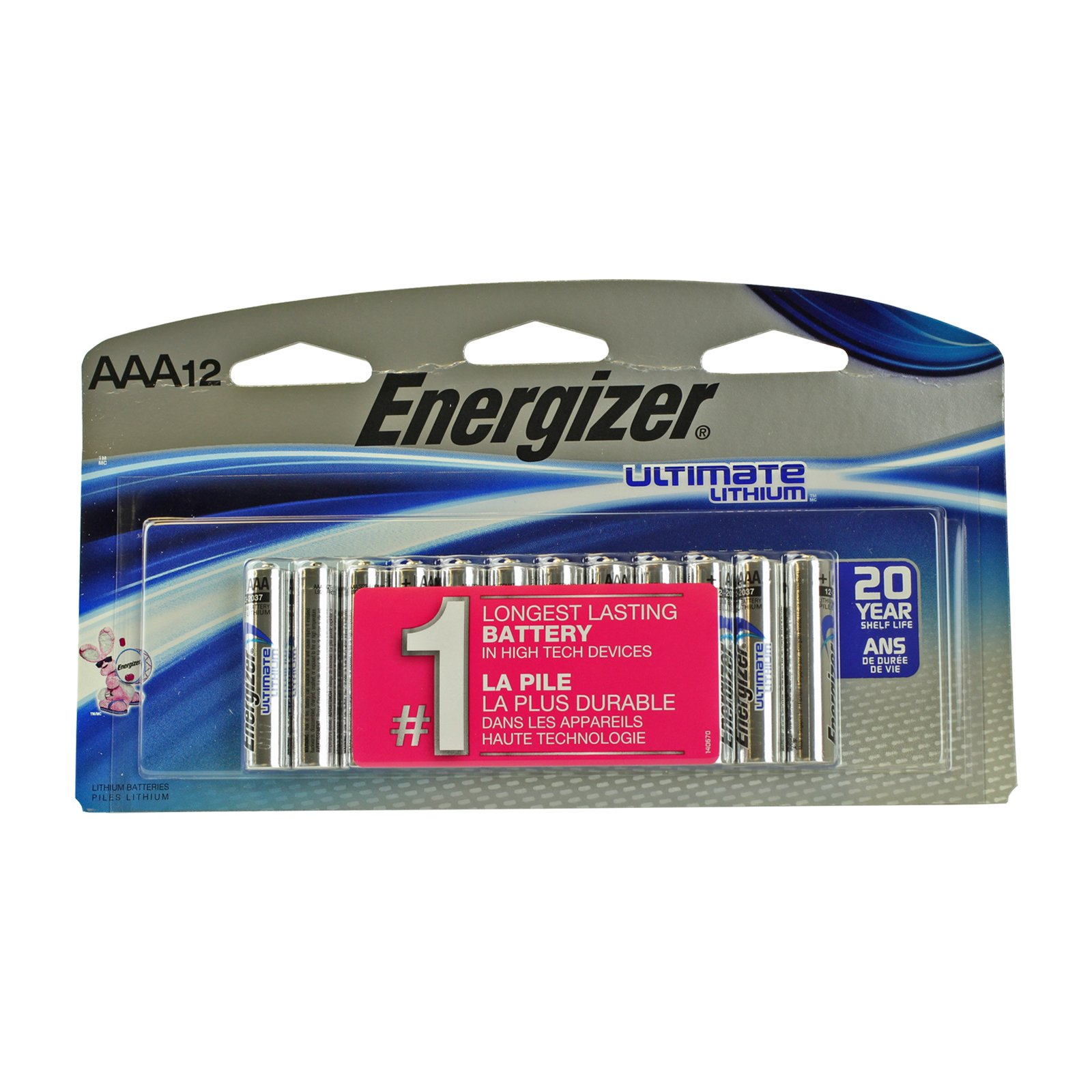 Energizer Ultimate AAA Lithium Batteries