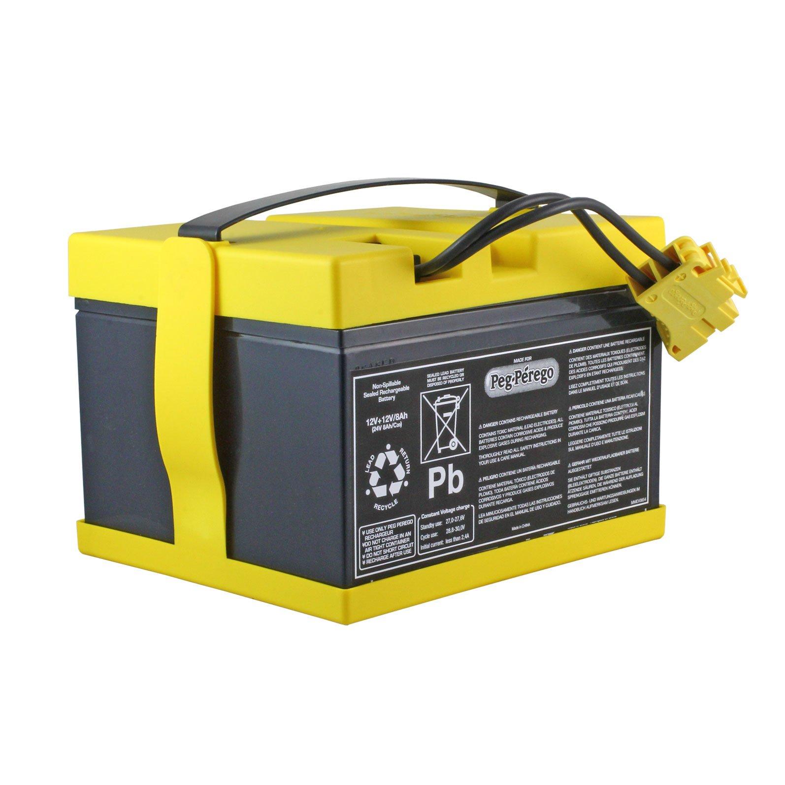 peg perego 24 volt battery for john deere gator xuv 6x4. Black Bedroom Furniture Sets. Home Design Ideas