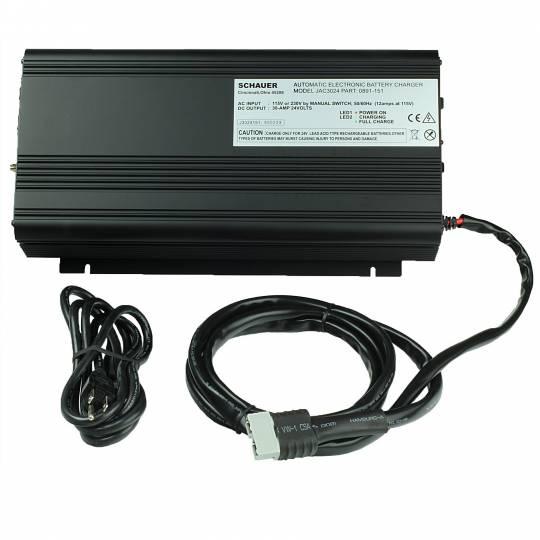 schauer jac3024 charger 24 volt, 30 amp with sb50 connectorschauer jac3024 charger 24 volt, 30 amp with sb50 connector batterymart com