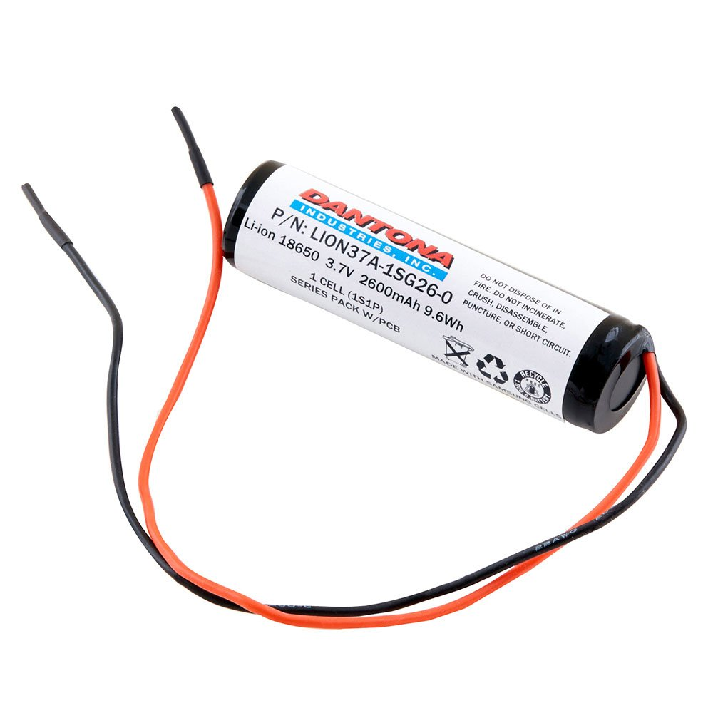 Replacement Li Ion 18650 Battery With Bare Wire Leads Free Series Parallel Pack Wiring Shipping