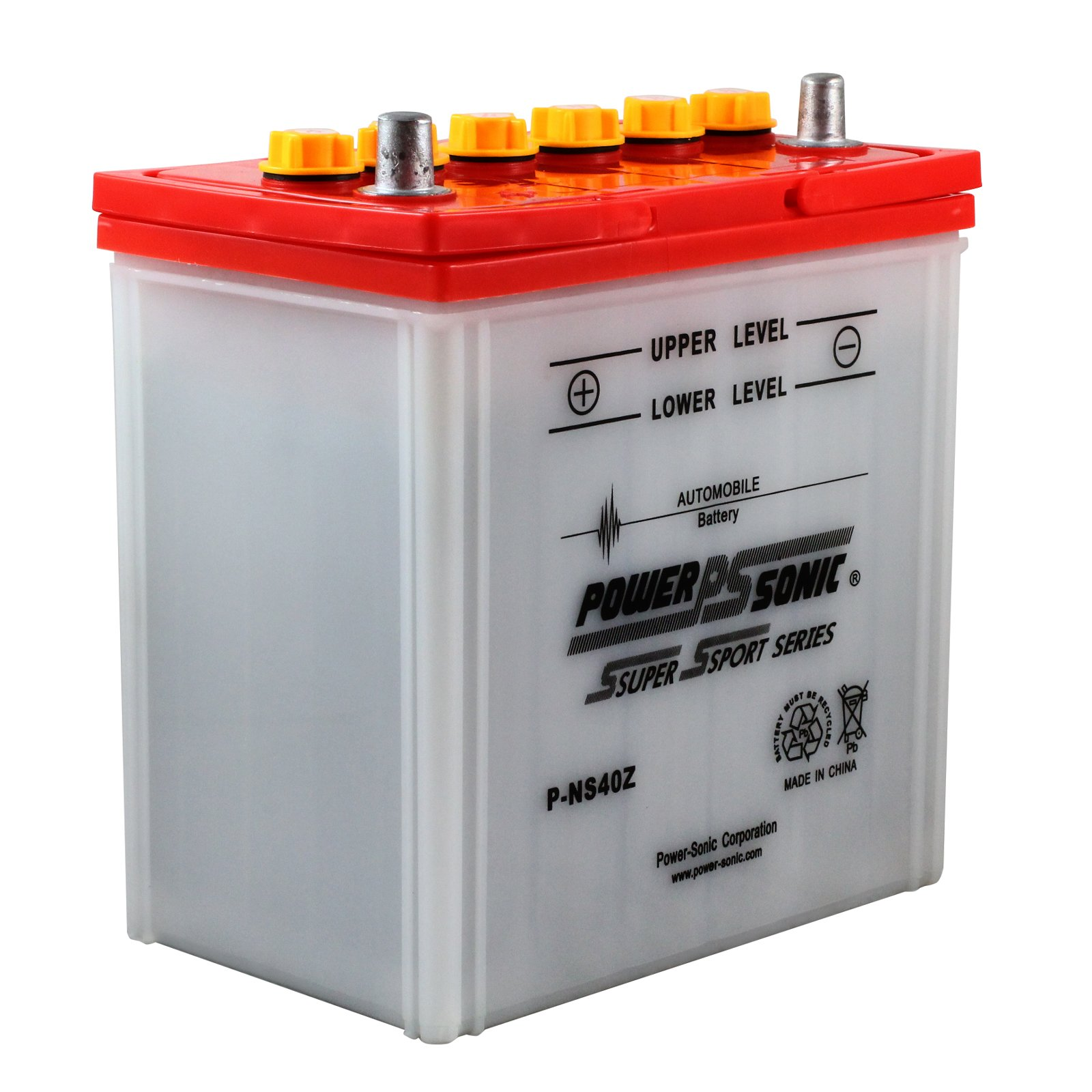 Power Sonic Ns40z 12 Volt Dry Charge Battery Without Acid