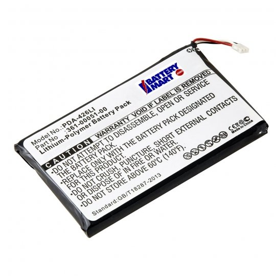 Replacement Garmin 361-00051-00 GPS Battery