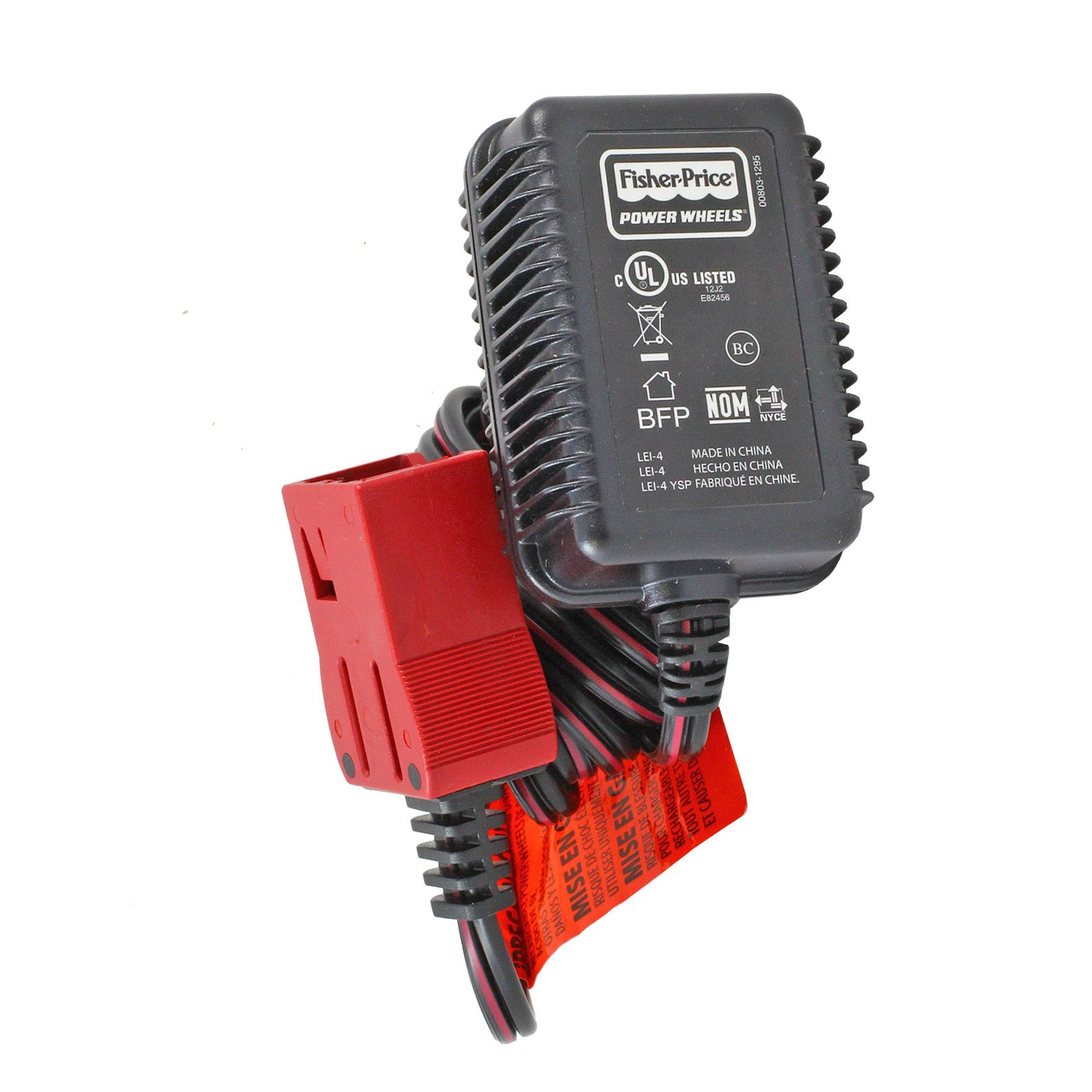6 Volt A Plug Power Wheels Battery Charger (for Red ...