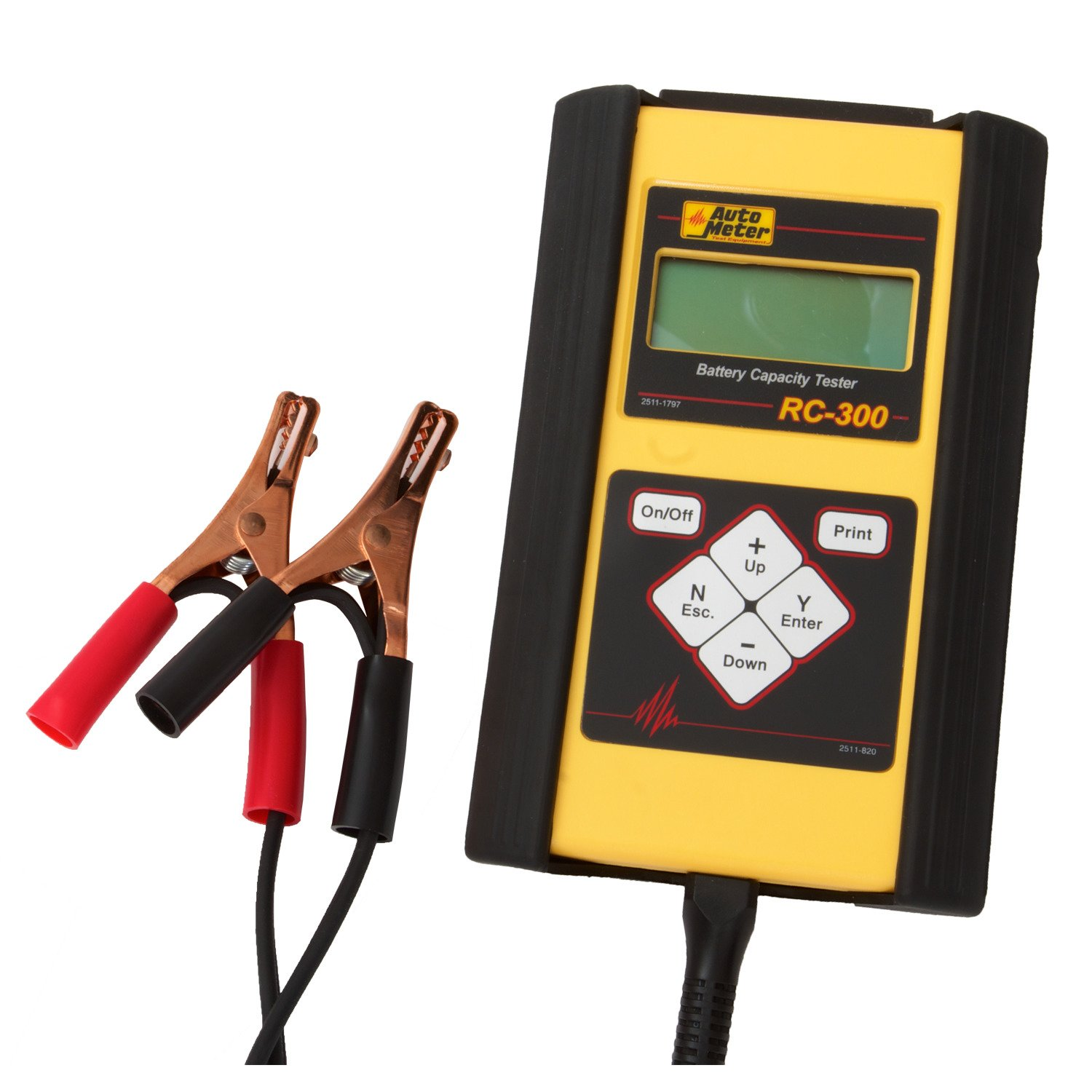 2 Battery Tester : Auto meter rc battery tester for v applications