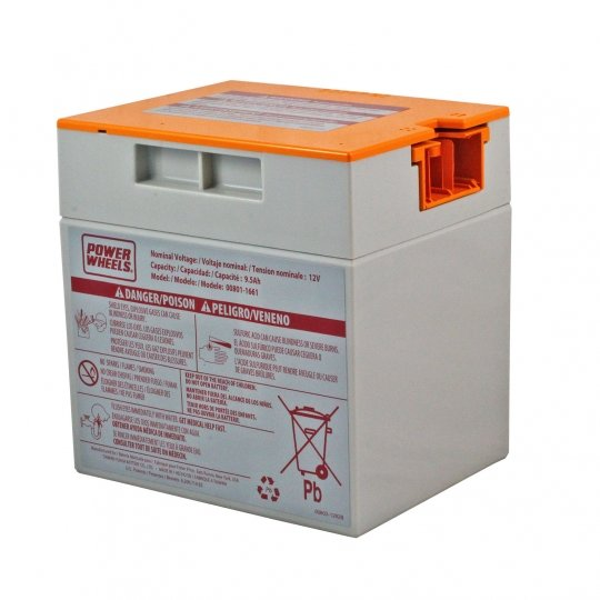 Fisher Price Power Wheels 12v Battery Probe Style Orange Top