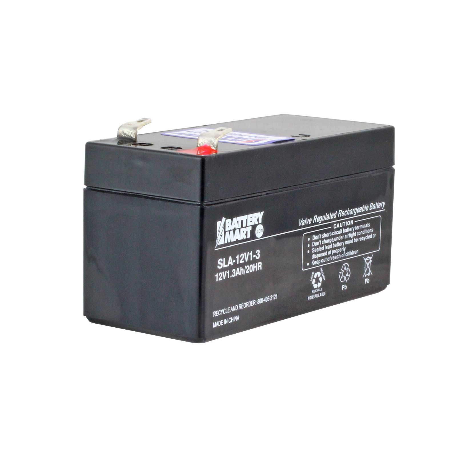 12 Volt 1 2 Ah Sealed Lead Acid Rechargeable Battery F1