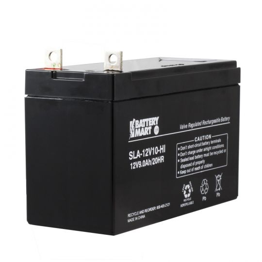 12 Volt 9 Ah Sealed Lead Acid Rechargeable Battery With B1