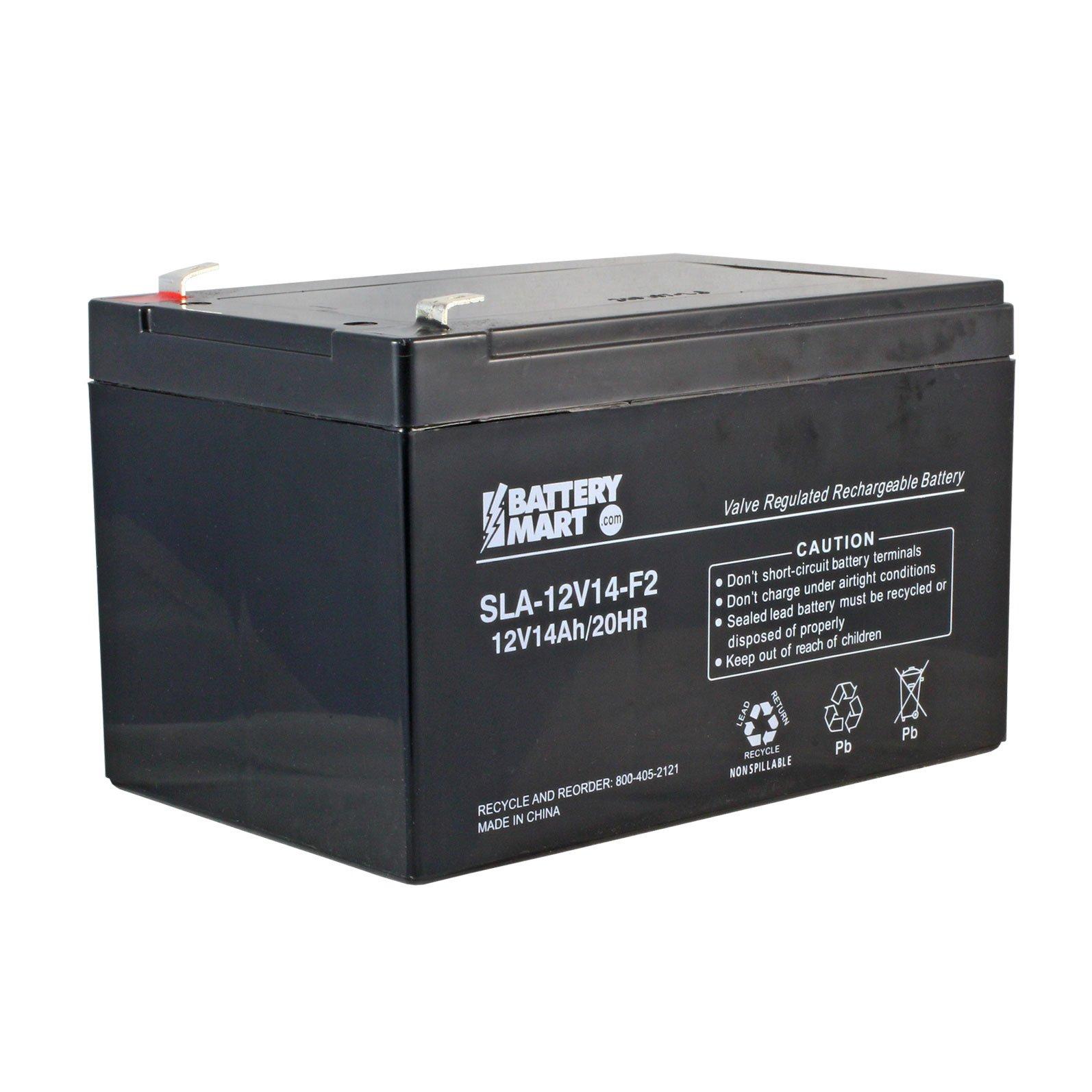 12 Volt 14 Ah Sealed Lead Acid Rechargeable Battery F2
