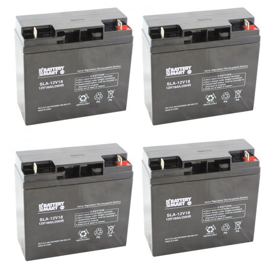 Compatible Replacement Battery Kit with Harness APC Smart-UPS 3000 RM SU3000RM